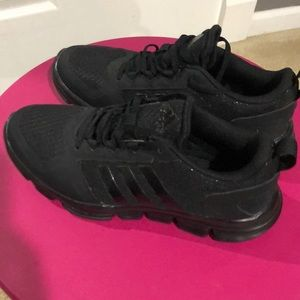 Men's adidas sneakers.  All black size 6